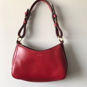 Mondani New York mini red purse